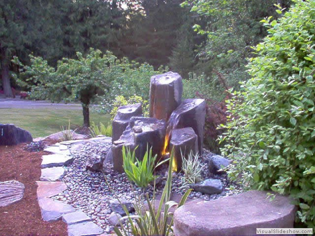 Bubbler Rock Column Creative Ideas Generated By